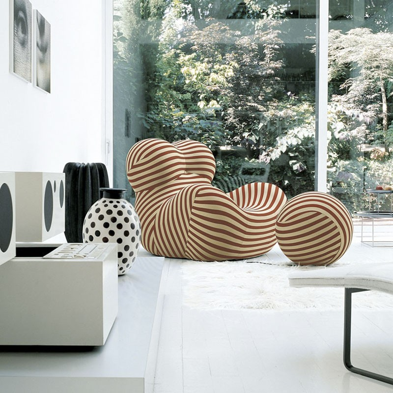 B b italia armchair serie up 2000 up5 6 lined soara for B b italia carugo