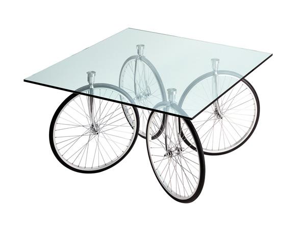 Tavolino Gae Aulenti Prezzo.Fontana Arte Tavolo Con Ruote Di Bicicletta Tour