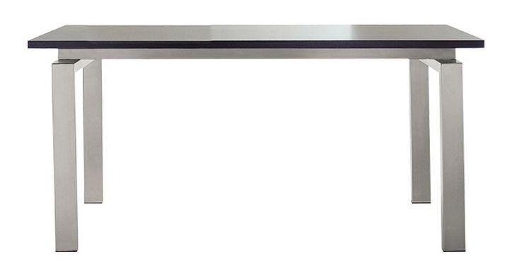 Pedrali tavolo ts space piano trasparente l 200 cm acciaio inox