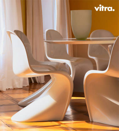 vitra sedia panton chair. Black Bedroom Furniture Sets. Home Design Ideas
