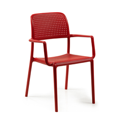 NARDI set of 4 outdoor chair with arms BORA CONTRACT COLLECTION