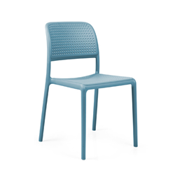 NARDI set de 4 chaises BORA BISTROT d'exterieur CONTRACT COLLECTION