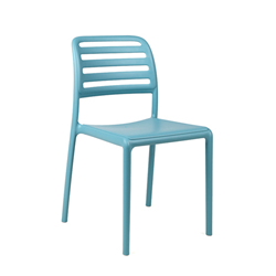 NARDI set de 4 chaises COSTA BISTROT d'exterieur CONTRACT COLLECTION