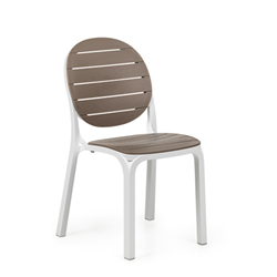 NARDI set de 4 chaises ERICA d'exterieur GARDEN COLLECTION