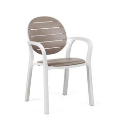 NARDI set de 6 fauteuils PALMA d'exterieur GARDEN COLLECTION