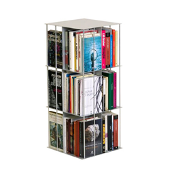 KRIPTONITE free-standing bookcase KROSSING ROTATING