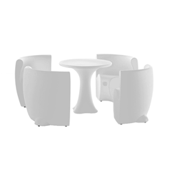 MYYOUR SET COMMUNITY table + 4 chairs RHONDA