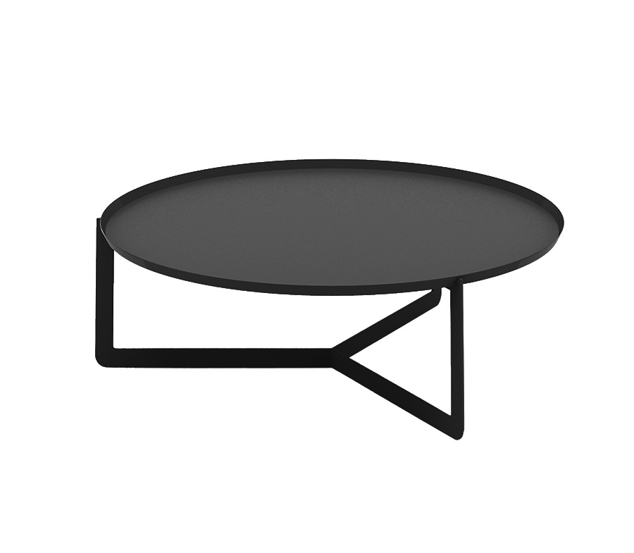 Meme Design Coffee Table Round 3 Black Metal Myareadesign It