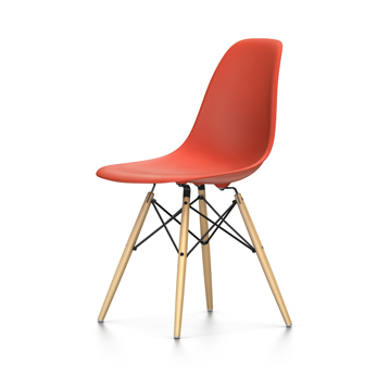 Vitra sedia eames plastic side chair dsw nuove dimensioni for Sedia design vitra
