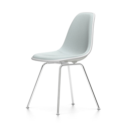 VITRA Eames Plastic Side Chair full padding DSX NEW DIMENSIONS