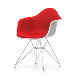 VITRA Eames Plastic Armchair full padding DAR NEW DIMENSIONS
