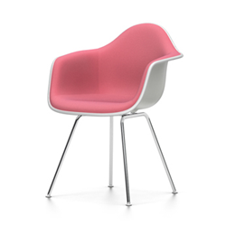 VITRA Eames Plastic Armchair with full padding DAX NEW DIMENSIONS