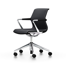 VITRA office chair 5 star base on wheels UNIX CHAIR SILK MESH