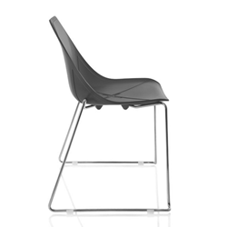 ALMA DESIGN X Chair Collection set da 4 sedie X SLED