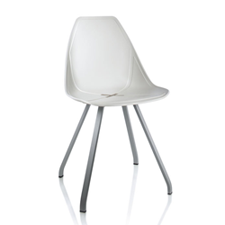 ALMA DESIGN X Chair Collection set da 4 sedie X SPIDER