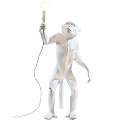 SELETTI floor LED lamp MONKEY LAMP