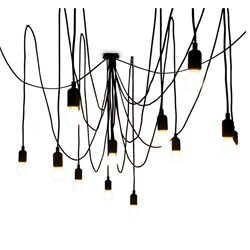 SELETTI suspension lamp MAMAN with 14 LED