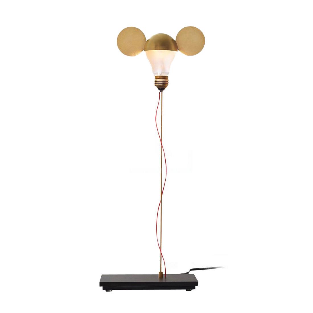 INGO MAURER lampada da tavolo I RICCHI POVERI TOTO - MyAreaDesign.it