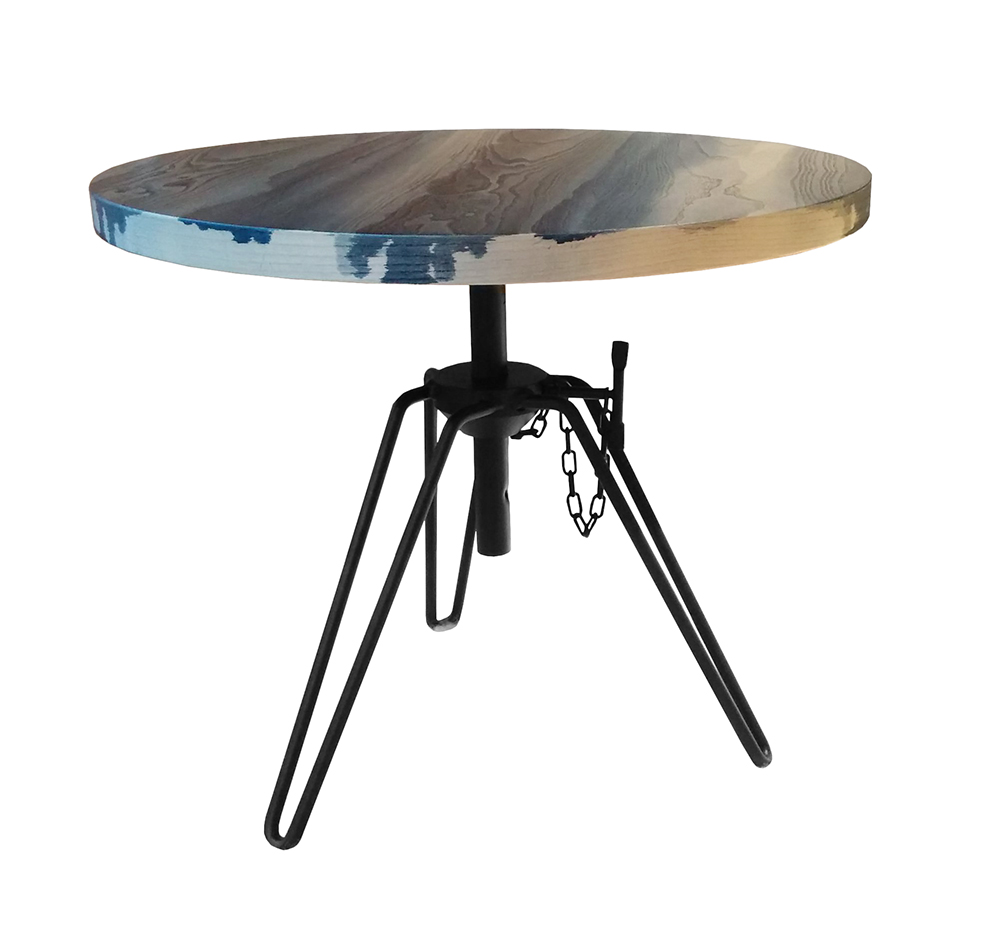 Tavolini Moroso : Diesel with moroso tavolino overdyed side table