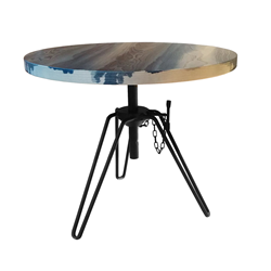 DIESEL WITH MOROSO coffee table OVERDYED SIDE TABLE