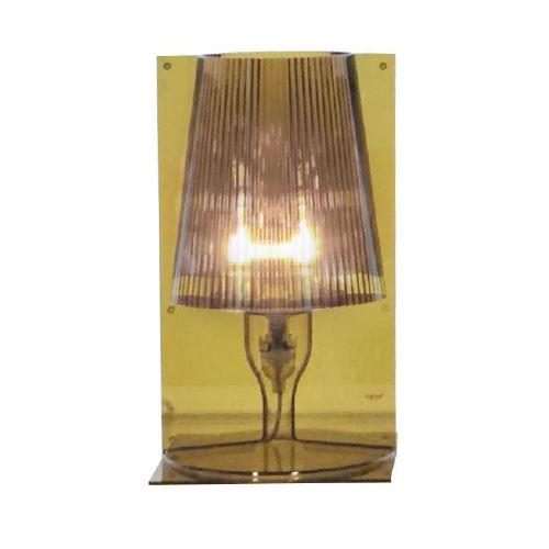 KARTELL lampada da tavolo TAKE (Verde oliva - Policarbonato ...