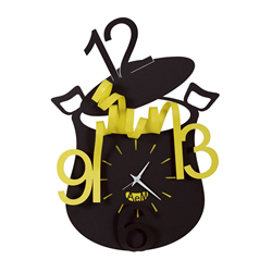 ARTI E MESTIERI wall clock CHEF