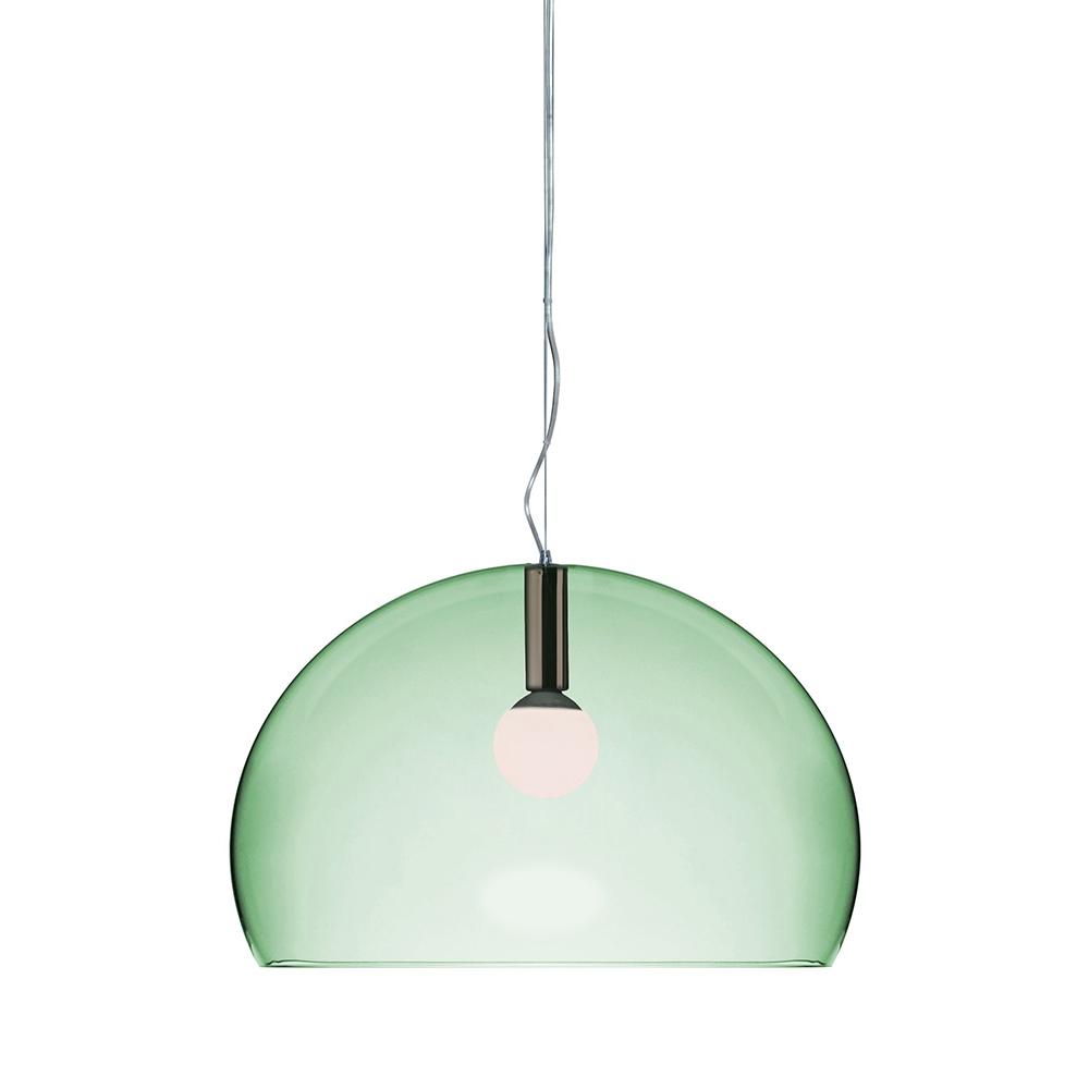 KARTELL lampe à suspension BIG FLY fly (Vert sauge PMMA transparent)
