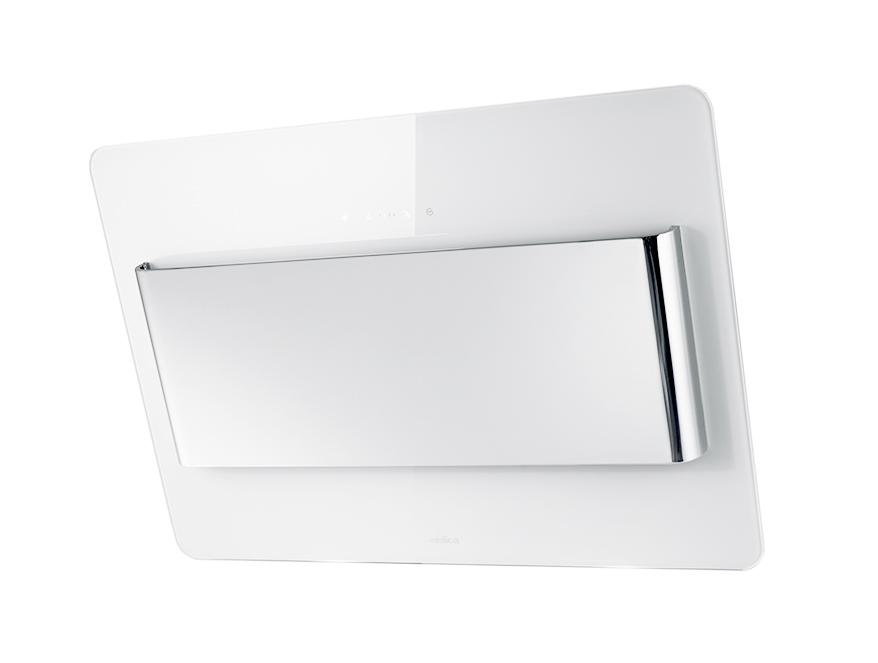 ELICA cappa da parete BELT (Bianco 80 cm - Acciaio / Vetro ...