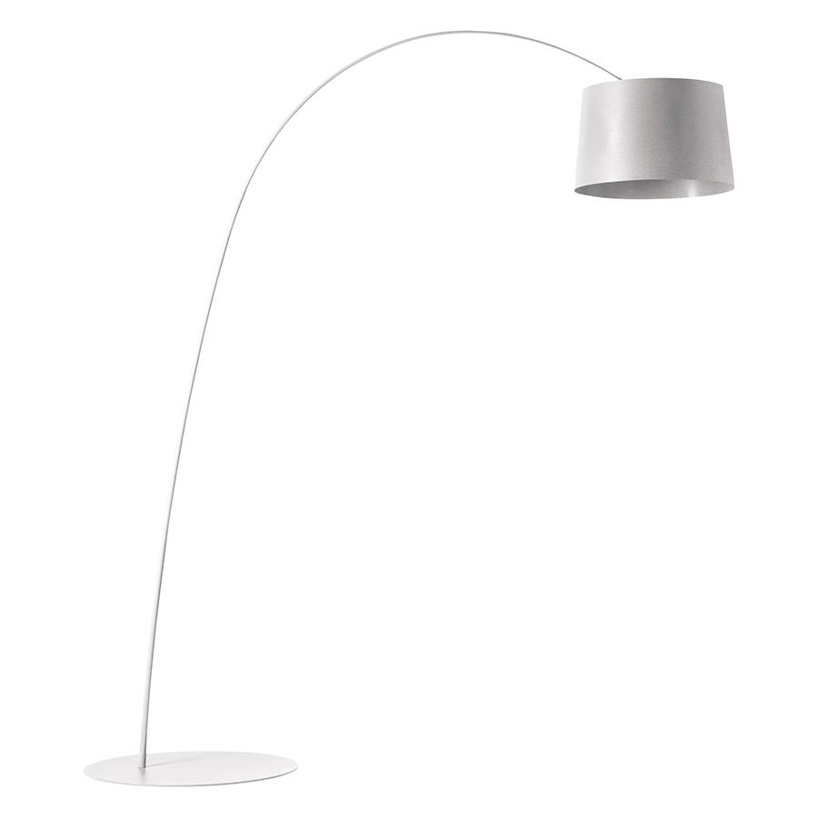 Lampada Da Terra Twiggy Foscarini.Foscarini Floor Lamp Twiggy Led White Glass Fiber Pmma