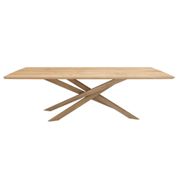 ETHNICRAFT rectangular table MIKADO
