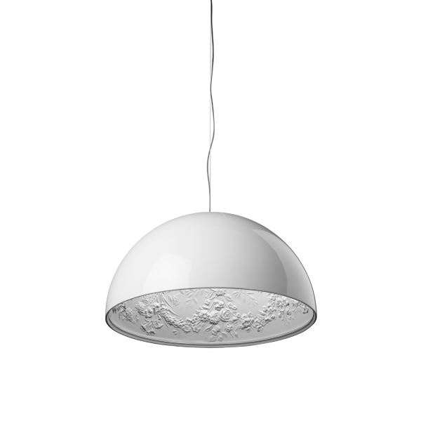 Flos lampada a sospensione skygarden 1 bianco lucido for Lampada flos sospensione