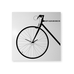 dESIGNoBJECT horloge murale BIKE CLOCK