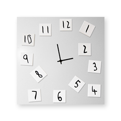 dESIGNoBJECT horloge murale CHANGING CLOCK