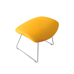 KNOLL stool with upholstered seat BERTOIA