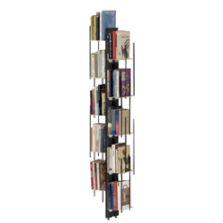 LE ZIE DI MILANO floor bookcase fixed to wall ZIA VERONICA