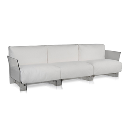 KARTELL sofa 3 places for outdoor POP OUTDOOR