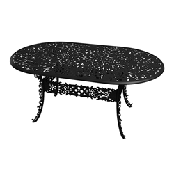 SELETTI oval table INDUSTRY GARDEN