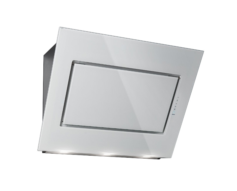 FALMEC cappa da parete QUASAR (Bianco 60 cm - Acciaio inox / Vetro ...