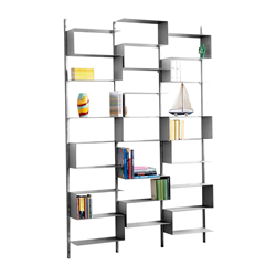 KRIPTONITE wall bookcase 25/52 IRON finishing