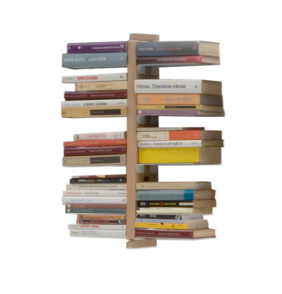 LE ZIE DI MILANO libreria sospesa da parete ZIA BICE - MyAreaDesign.it