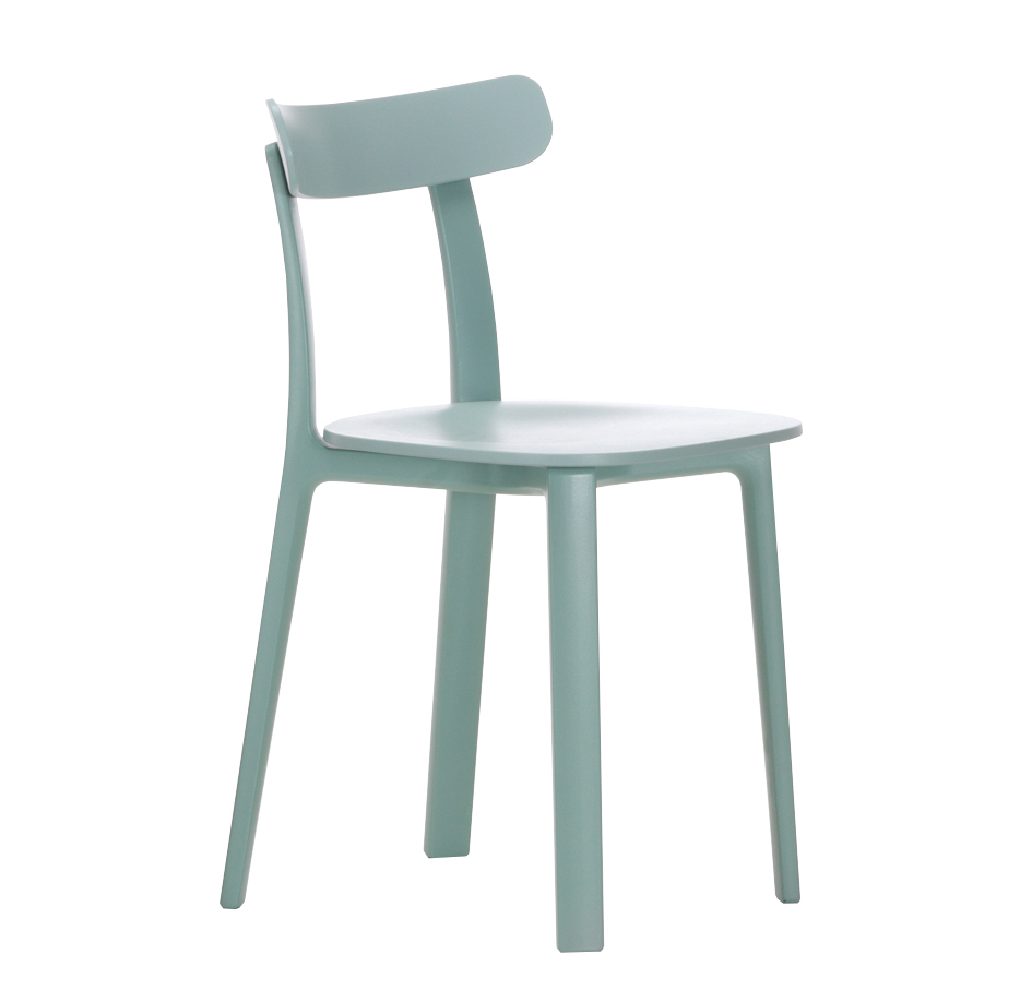 Vitra sedia all plastic chair for Sedia design vitra