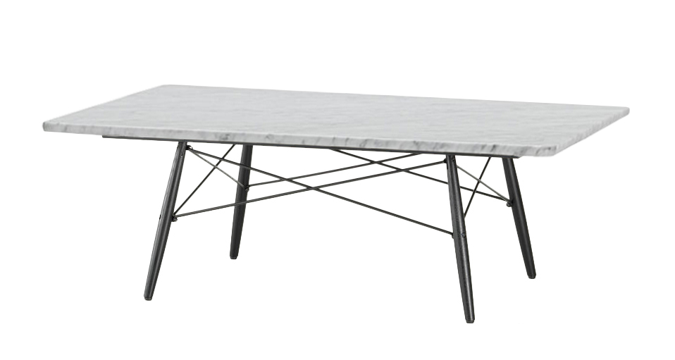 Table basse charles eames ov86 jornalagora - Table marbre rectangulaire ...