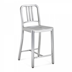 EMECO NAVY COUNTER STOOL sgabello