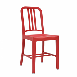 EMECO NAVY CHAIR 111 set of 2 chairs without arms