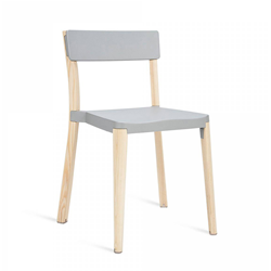 EMECO LANCASTER STACKING CHAIR without arms