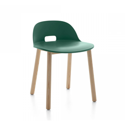 EMECO ALFI CHAIR LOW BACK sedia con schienale basso