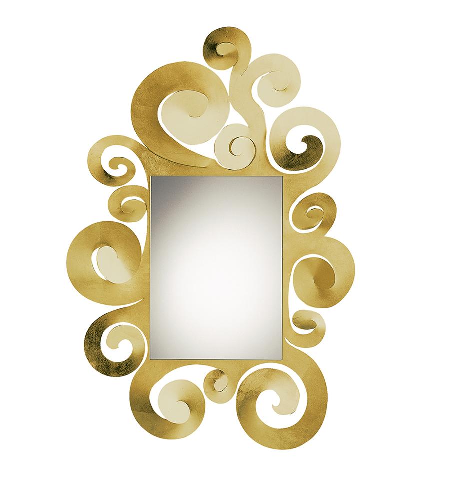 Arti e mestieri specchio da parete temple grande foglia for Piani artistici di stile di arti e mestieri