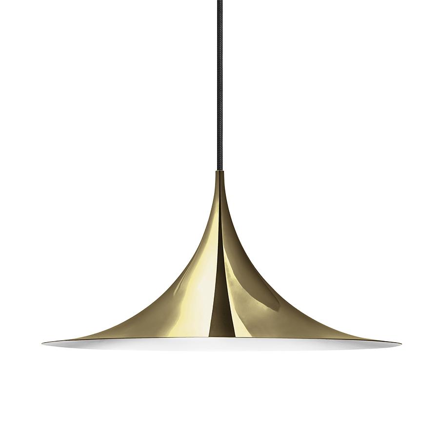 gubi lampe suspension semi 47 cm laiton m tal. Black Bedroom Furniture Sets. Home Design Ideas