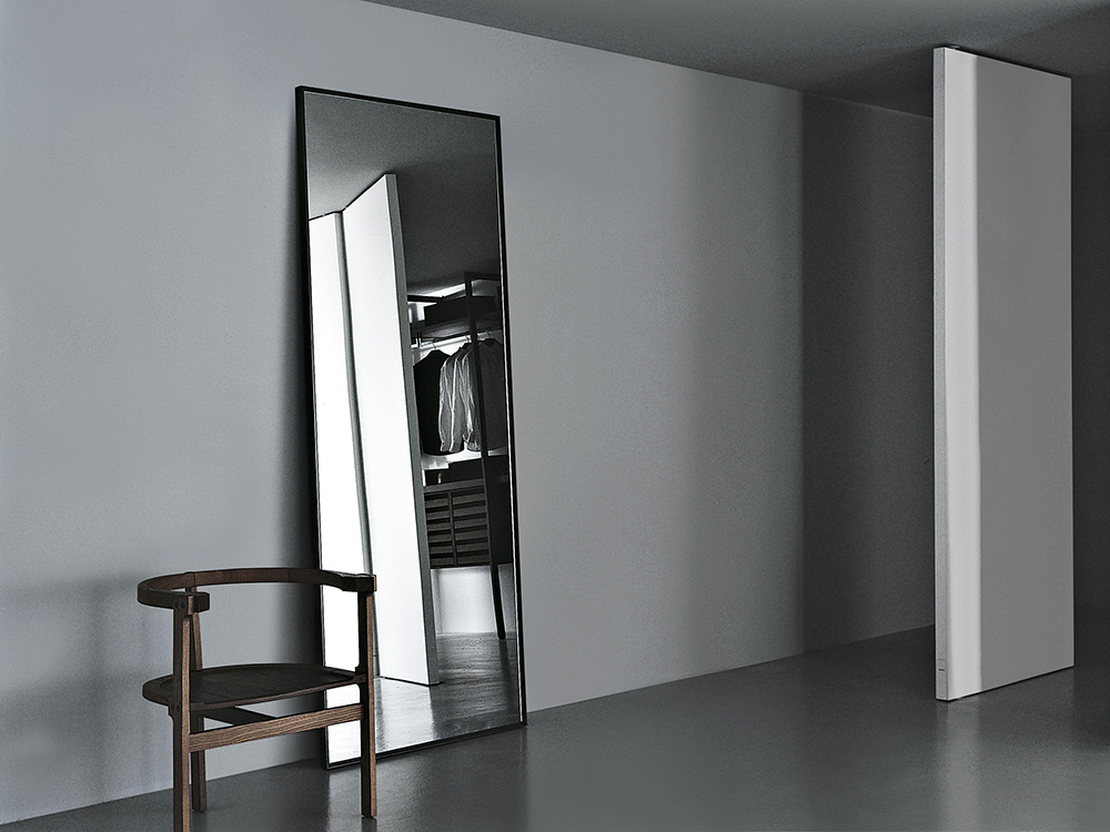 Porro specchio da terra reflection for Specchio girevole da terra