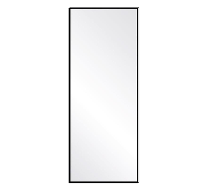 Porro specchio da terra reflection 70x180 cm vetro e for Specchio da terra brico